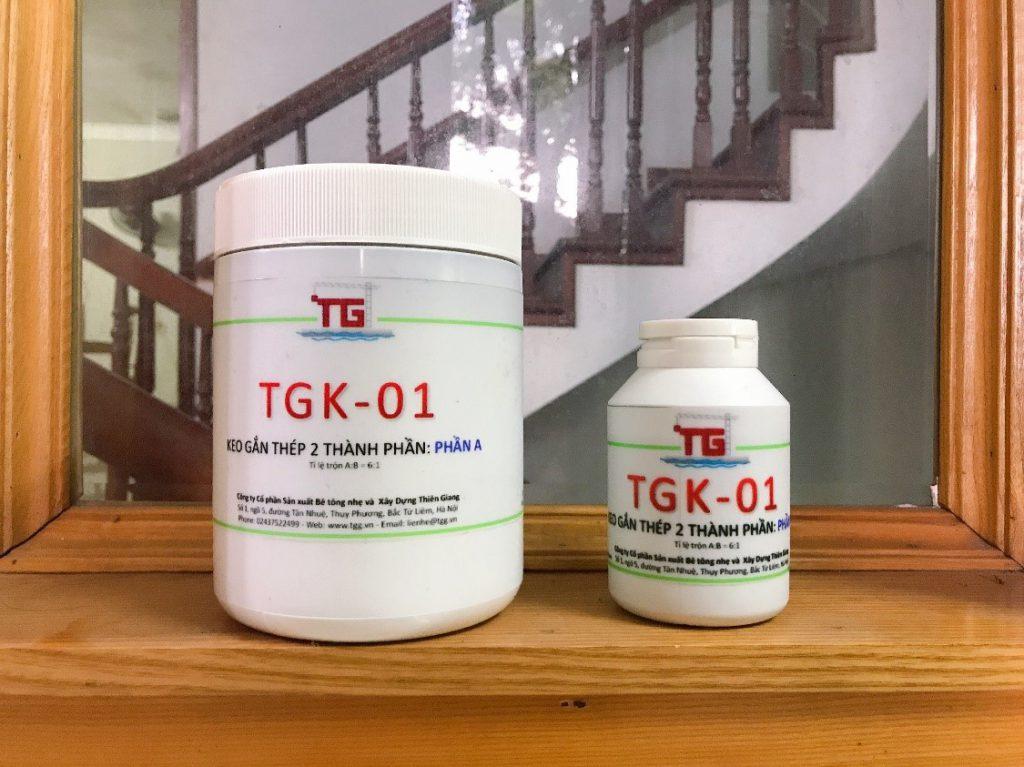 Keo gắn thép và nối thép – TGK-01